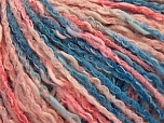 İçerik 50% Pamuk, 50% Akrilik, Pink Shades, Brand ICE, Blue Shades, Yarn Thickness 4 Medium  Worsted, Afghan, Aran, fnt2-58168