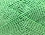 Fiber Content 100% Acrylic, Mint Green, Brand Ice Yarns, Yarn Thickness 2 Fine  Sport, Baby, fnt2-23585