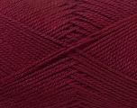 Fiber Content 100% Acrylic, Brand ICE, Burgundy, Yarn Thickness 2 Fine  Sport, Baby, fnt2-23598