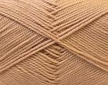Fiber Content 100% Acrylic, Light Brown, Brand Ice Yarns, Yarn Thickness 2 Fine  Sport, Baby, fnt2-23779