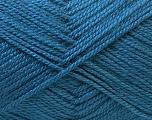 Fiber Content 100% Acrylic, Brand Ice Yarns, Blue, Yarn Thickness 2 Fine  Sport, Baby, fnt2-33027