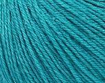 Fiber Content 50% Silk, 30% Merino Superfine, 20% Cashmere, Turquoise, Brand ICE, Yarn Thickness 3 Light  DK, Light, Worsted, fnt2-36996