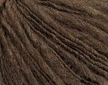 Fiber Content 55% Acrylic, 45% Wool, Brand ICE, Dark Camel, Yarn Thickness 4 Medium  Worsted, Afghan, Aran, fnt2-48482