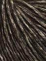 İçerik 60% Pamuk, 5% Polyamid, 35% Alpaca Superfine, White, Brand Ice Yarns, Dark Brown, fnt2-44015