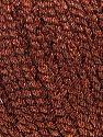 İçerik 52% Metalik Simli, 48% Polyester, Brand Ice Yarns, Copper, Black, fnt2-44806