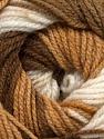 İçerik 100% Premium Akrilik, White, Brand Ice Yarns, Brown Shades, fnt2-44919