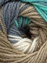 İçerik 100% Premium Akrilik, White, Turquoise, Brand Ice Yarns, Green, Camel, fnt2-44920
