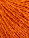 Fiber Content 55% Baby Alpaca, 45% Superwash Extrafine Merino Wool, Orange, Brand ICE, Yarn Thickness 3 Light  DK, Light, Worsted, fnt2-52766