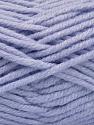 Fiber Content 80% Acrylic, 20% Polyamide, Light Lilac, Brand ICE, Yarn Thickness 5 Bulky  Chunky, Craft, Rug, fnt2-56587