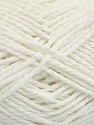 Fiber Content 70% Mako Cotton, 30% Polyamide, White, Brand ICE, Yarn Thickness 3 Light  DK, Light, Worsted, fnt2-56649
