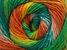 İçerik 70% Akrilik, 30% Yün, Orange, Brand ICE, Green Shades, Gold, Yarn Thickness 3 Light  DK, Light, Worsted, fnt2-58148