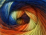 İçerik 70% Akrilik, 30% Yün, Yellow, Orange, Maroon, Brand ICE, Blue Shades, Yarn Thickness 3 Light  DK, Light, Worsted, fnt2-58149