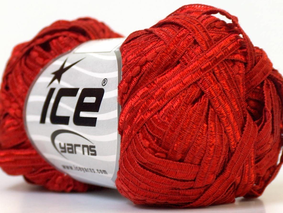 Crepe Ribbon Kırmızı